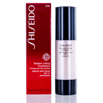 Shop for authentic Shiseido Radiant Lifting Spf 17 Foundation (O60) 1.2 Oz (30 Ml) at Diaries of Paris