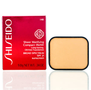 Shiseido Sheer Matifying Foundation Refill (140 Natural Fair Ivory) .34 oz