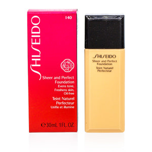 Shiseido Sheer And Perfect Liquid Foundation Natural Fair Ivory (I40) 1.0 oz