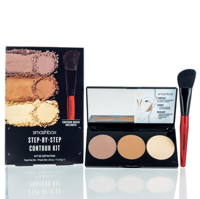 Smashbox Step By Step Contour Kit Light Medium .4 Oz (11.47 Ml)