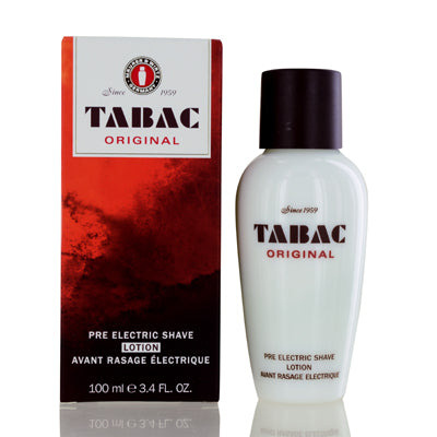Tabac Original Wirtz Pre Electric Shave Lotion 3.4  oz (100  ml) For Men.