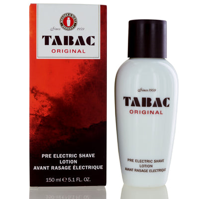 Tabac Original Wirtz Pre Electric Shave Lotion 5.1  oz (150  ml) For Men.