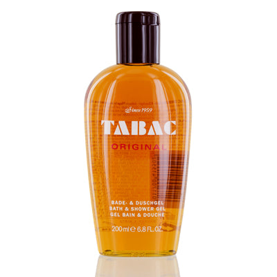 Tabac Original Wirtz Bath & Shower Gel 6.8  oz (200  ml) For Men.
