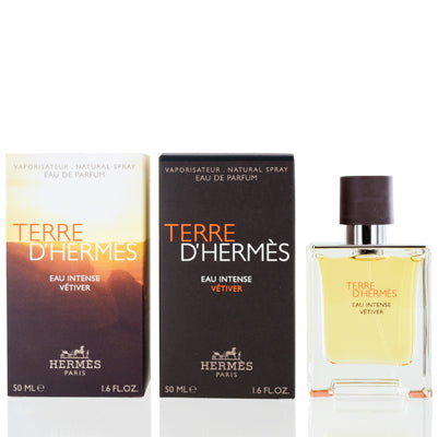 Terre D'Hermes Eau Intense Vetiver by Hermes Edp Spray For Men