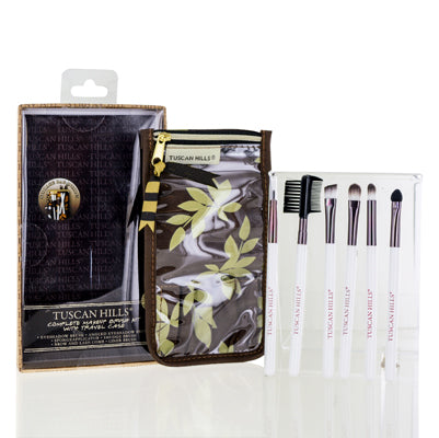 Tuscan Hills  Complete Makeup Brush Kit With Travel Case
