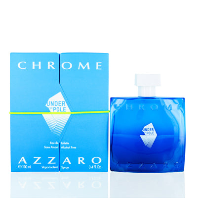 Chrome Under The Pole by Azzaro Edt Spray For Men