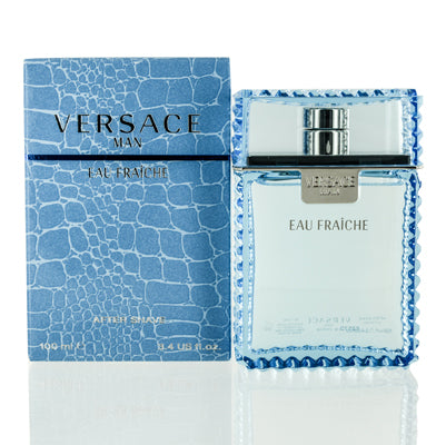 Versace Man Eau Fraiche Versace After Shave 3.4 oz (100 ml)  For Men.