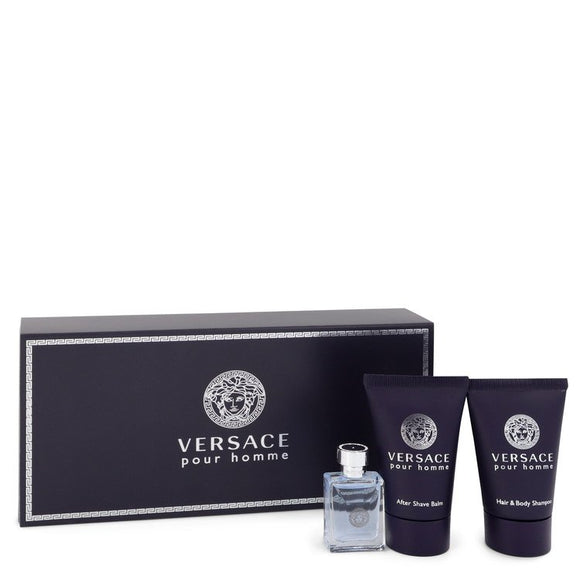 Versace Pour Homme Gift Set By Versace For Men