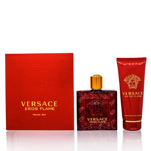Versace Eros Flame by Versace Traveler  Set For Men