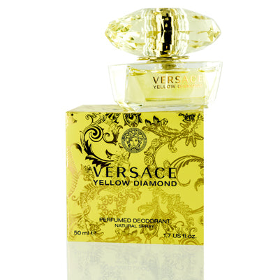 Versace Yellow Diamond Versace Deodorant Spray 1.7 Oz (50 Ml) For Women