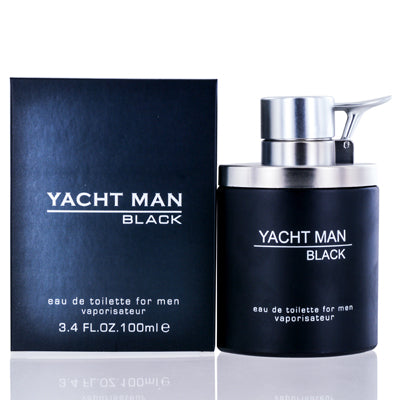 Yacht Man Black by Myrurgia Edt Spray For Men