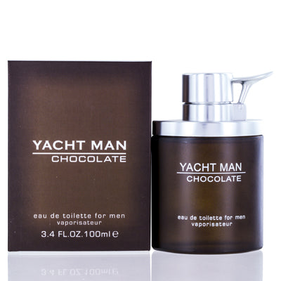 Shop for authentic Yacht Man Chocolate Myrurgia Edt Spray 3.4 Oz (100 Ml) For Men at Diaries of Paris