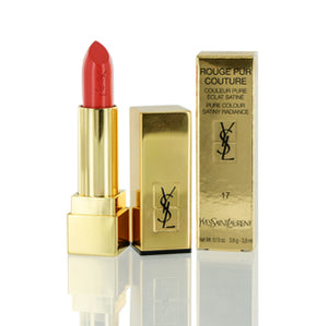 Yves Saint Laurent Rouge Pur Couture Lipstick #17 Rose Dahlia .13 oz.