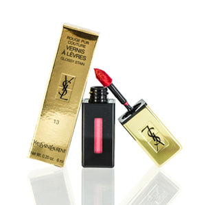 Yves Saint Laurent Rouge Pur Couture Vernis A Levres Glossy Stain (13) Rose Tempera 0.2 oz