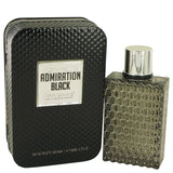 Admiration Black Eau De Toilette Spray By Linn Young For Men