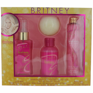 Fantasy by Britney Spears 4 Piece Set  For Women