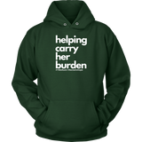 Helping Carry Her Burden - #YWeRuck