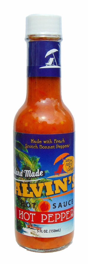 PRE-ORDER ONLY:  Red Pepper Hot Sauce 5 oz (EST SHIPPING SEP 15th-30th)