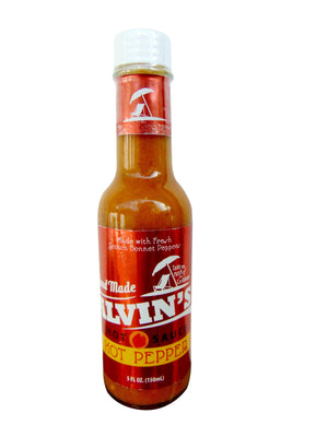 Alvin's Yellow Pepper Hot Sauce 5 oz