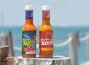 Red and Yellow Pepper Hot Sauce 5 oz  (2-Pack)  *RUSH of the Caribbean Special-$3.99 Shipping!