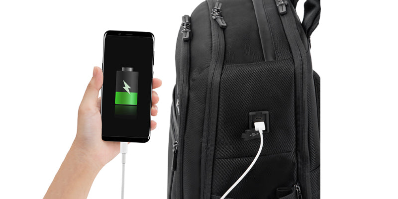 Crew Executive Choice 3 Medium and Large Backpack with USB port