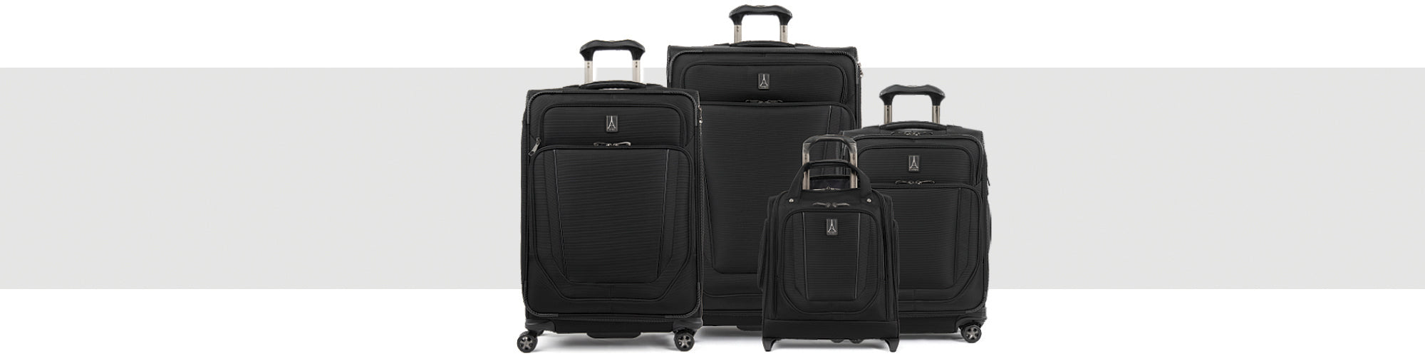 different size luggage
