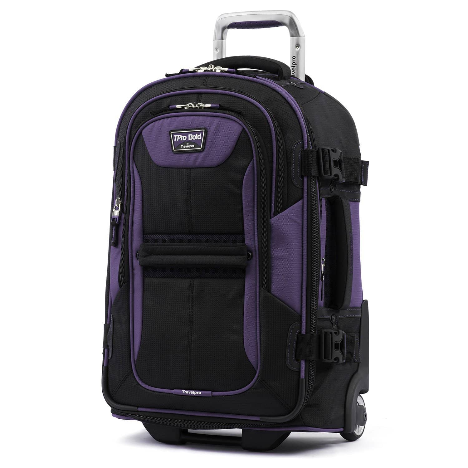 "Travelpro T-pro® Bold™ 2 22"" Expandable Rollaboard® PURPLE"