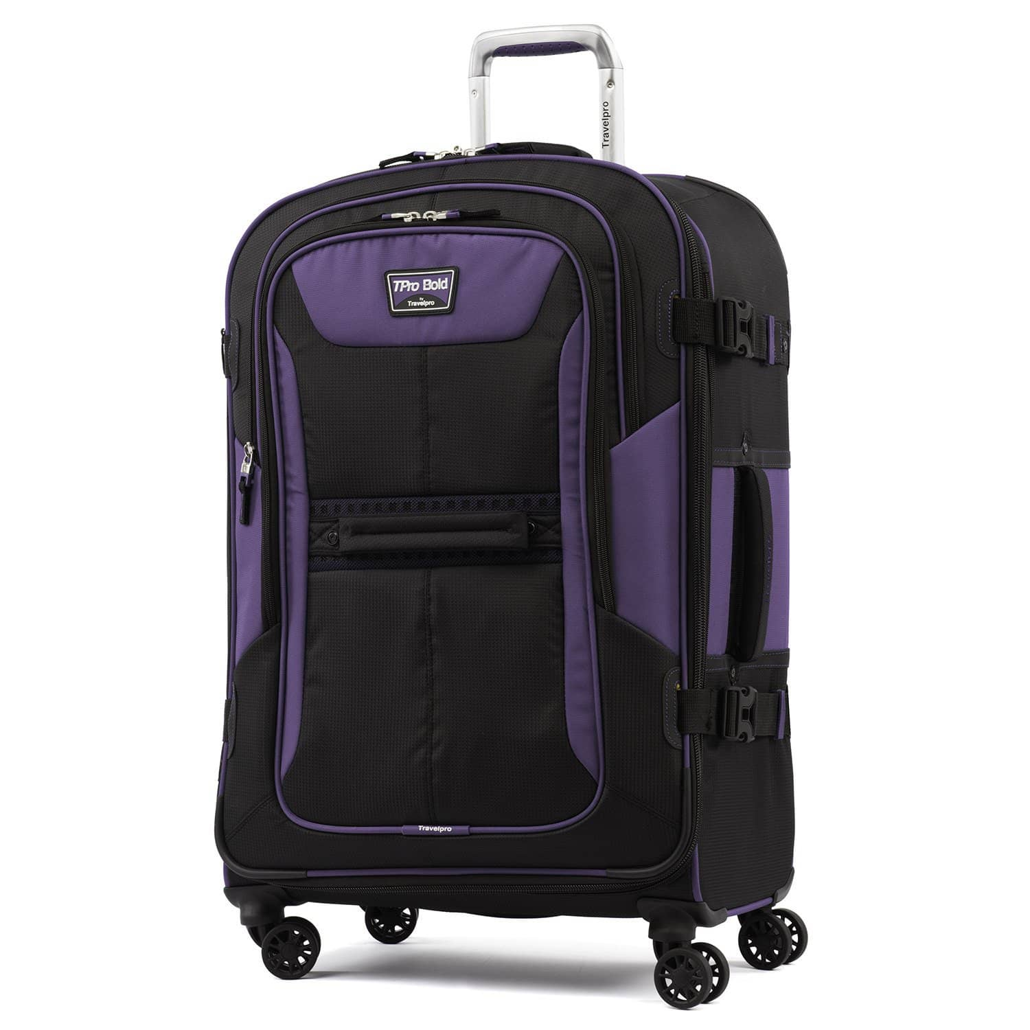 """Travelpro T-pro® Bold™ 2 26"""" Expandable Spinner PURPLE"""
