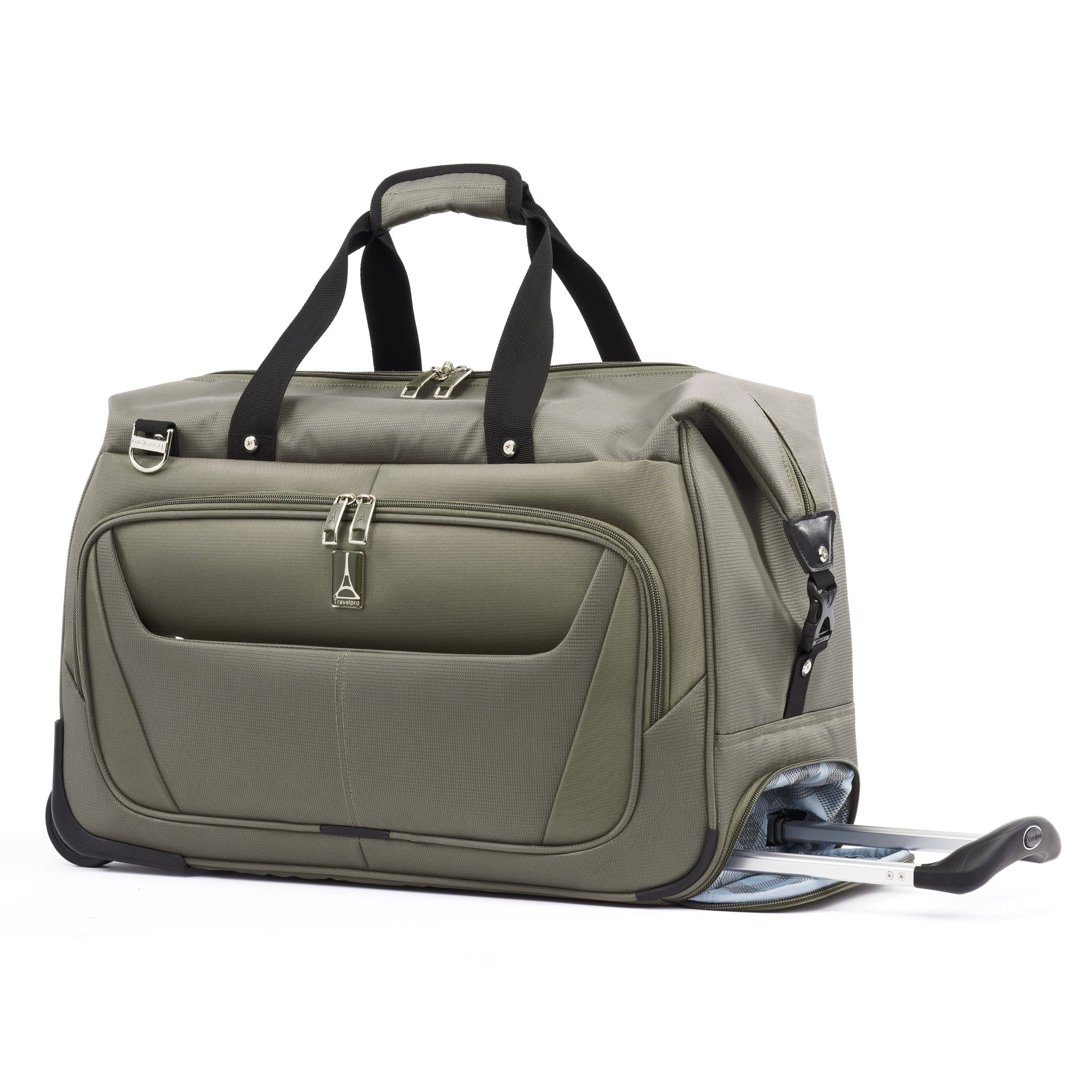 Travelpro Maxlite® 5 Carry-on Rolling Duffel SLATE GREEN