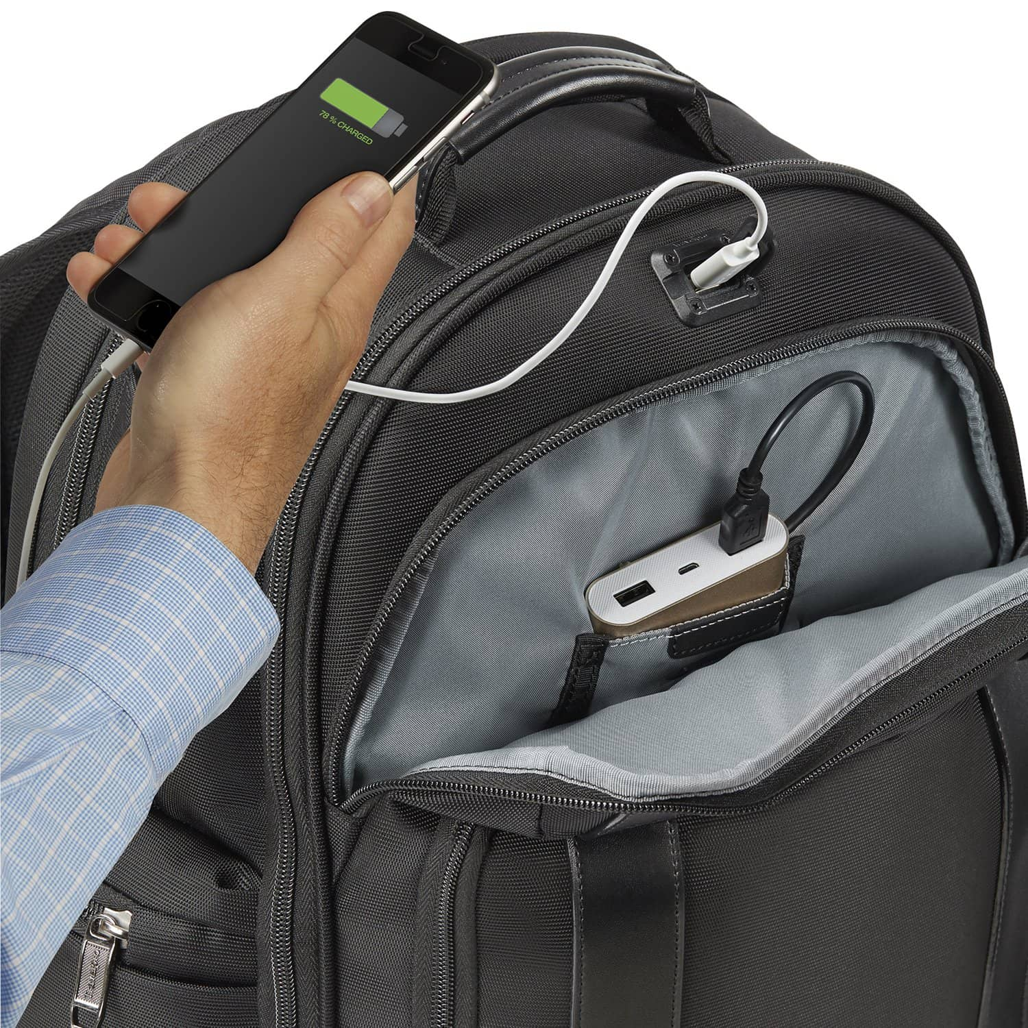 Crew™ Executive Choice™ 2 Checkpoint Friendly Backpack