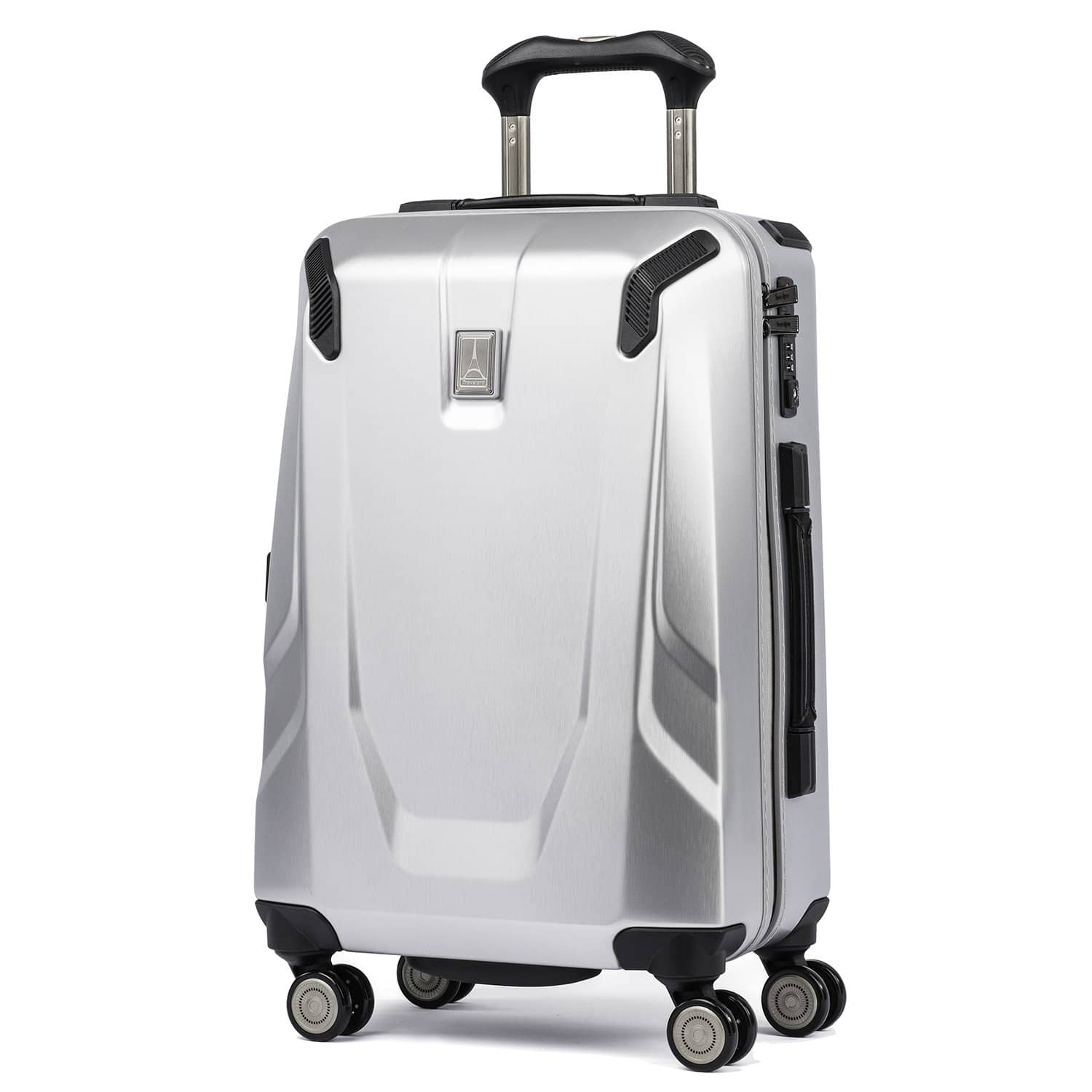 "Travelpro Crew™ 11 21"" Slim Hardside Carry-on Spinner SILVER"