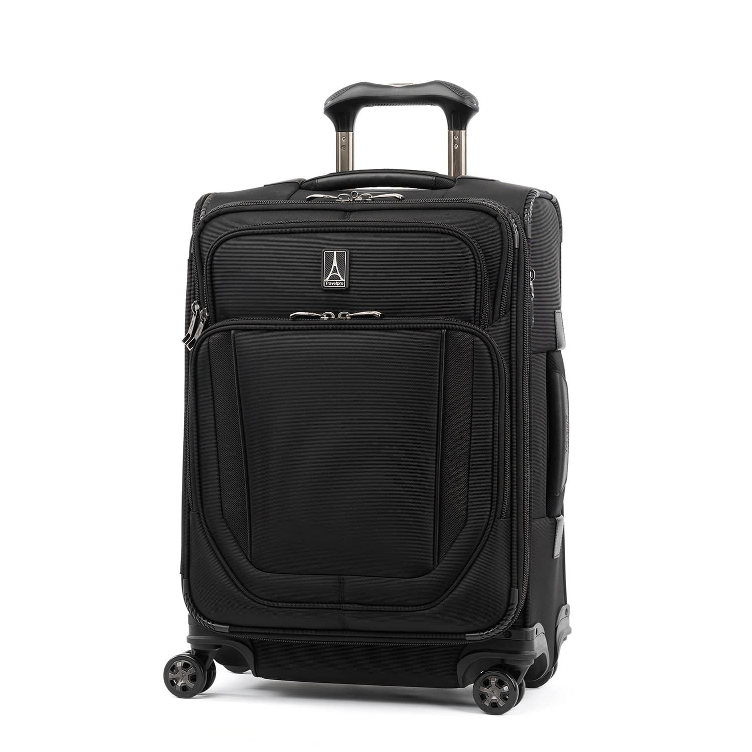 Travelpro Crew™ Versapack™ Max Carry-on Expandable Spinner JET BLACK