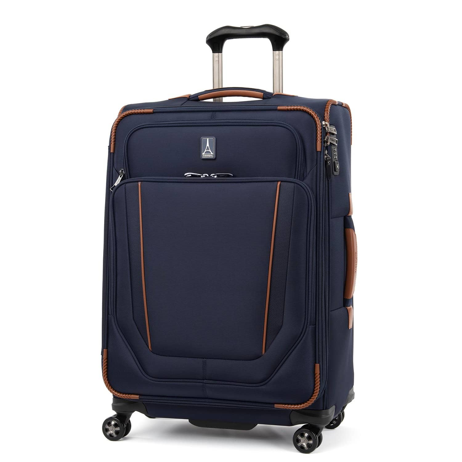 """Travelpro Crew™ Versapack™ 25"""" Expandable Spinner Suiter PATRIOT BLUE"""