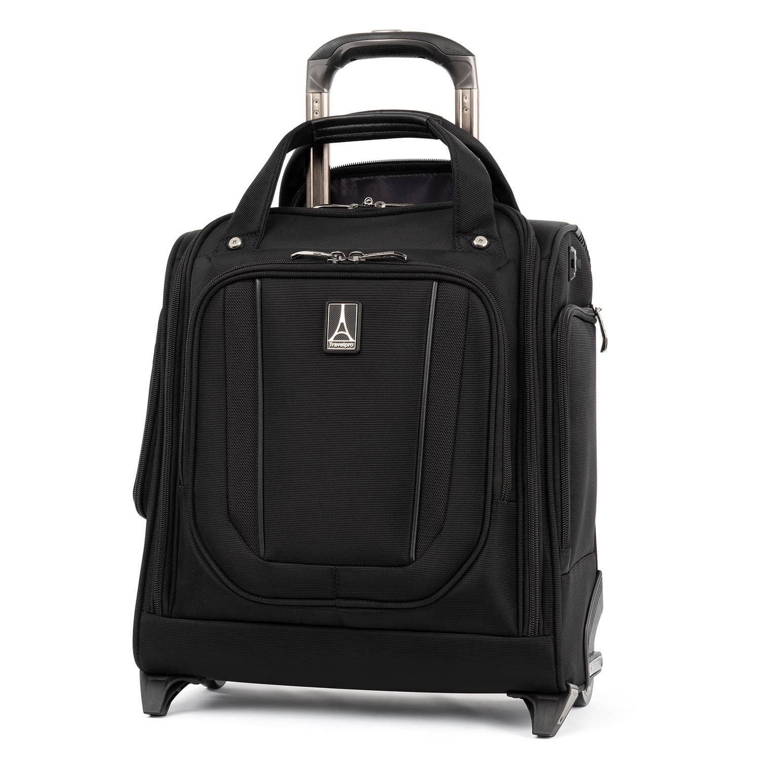 Travelpro Crew™ Versapack™ Rolling Underseat Carry-on JET BLACK