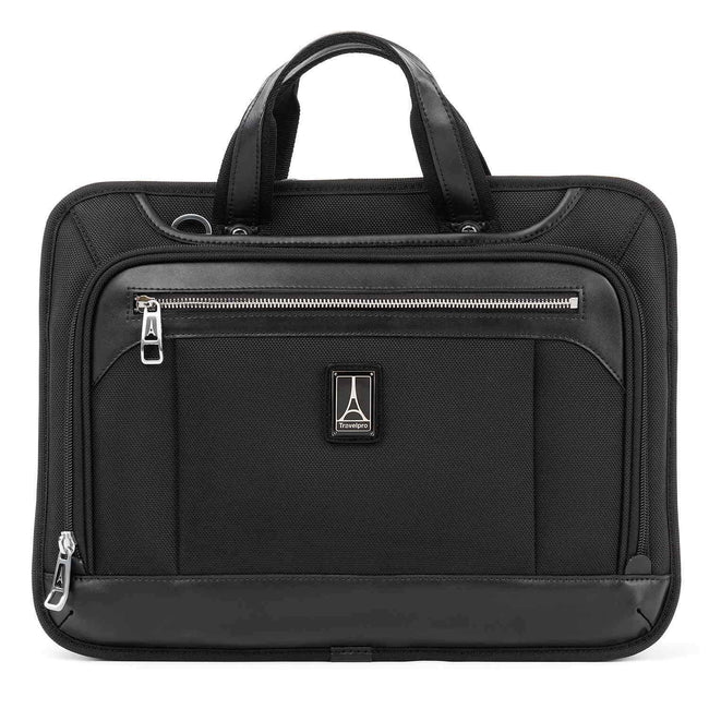 Travelpro Platinum Elite Slim Business Brief, Shadow Black