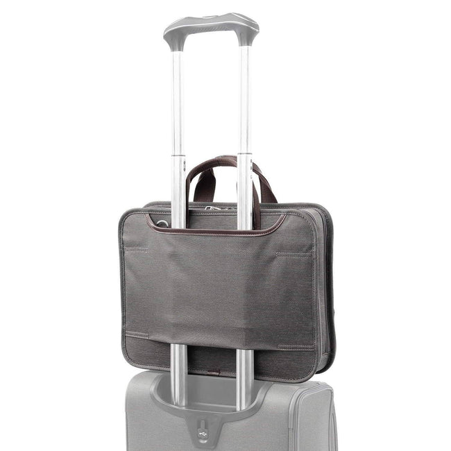 Travelpro Platinum Elite Slim Business Brief, Vintage Grey