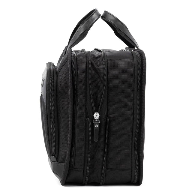 Travelpro Platinum Elite Expandable Business Brief, Shadow Black