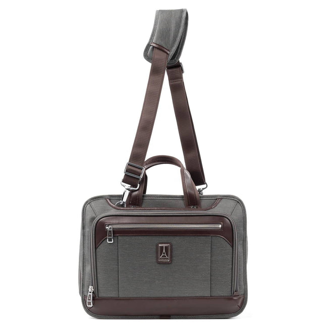 Travelpro Platinum Elite Expandable Business Brief, Vintage Grey