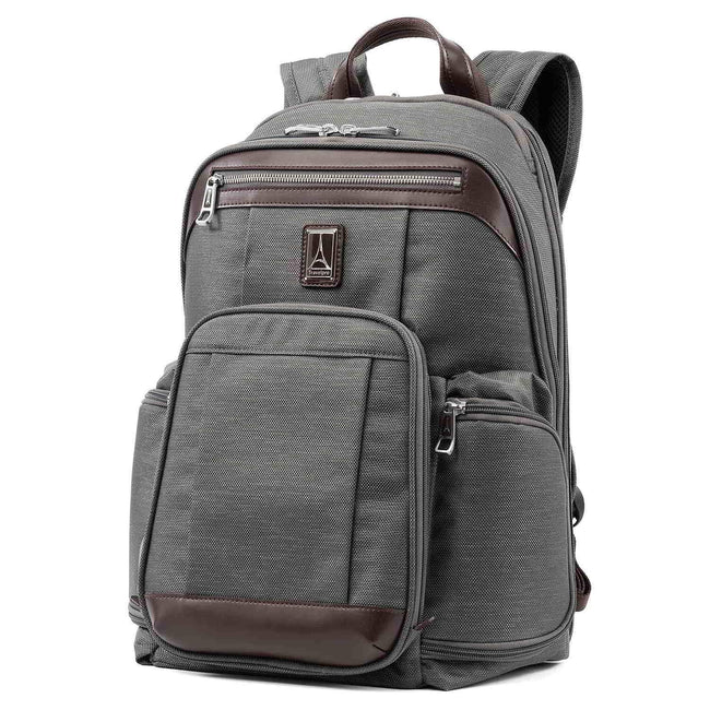 Travelpro Platinum Elite Business Backpack, Vintage Grey