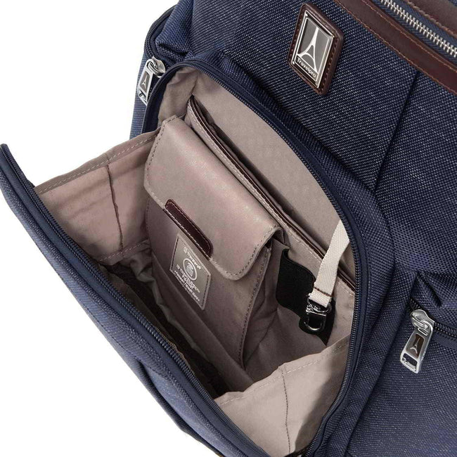 Travelpro Platinum Elite Business Backpack, True Navy