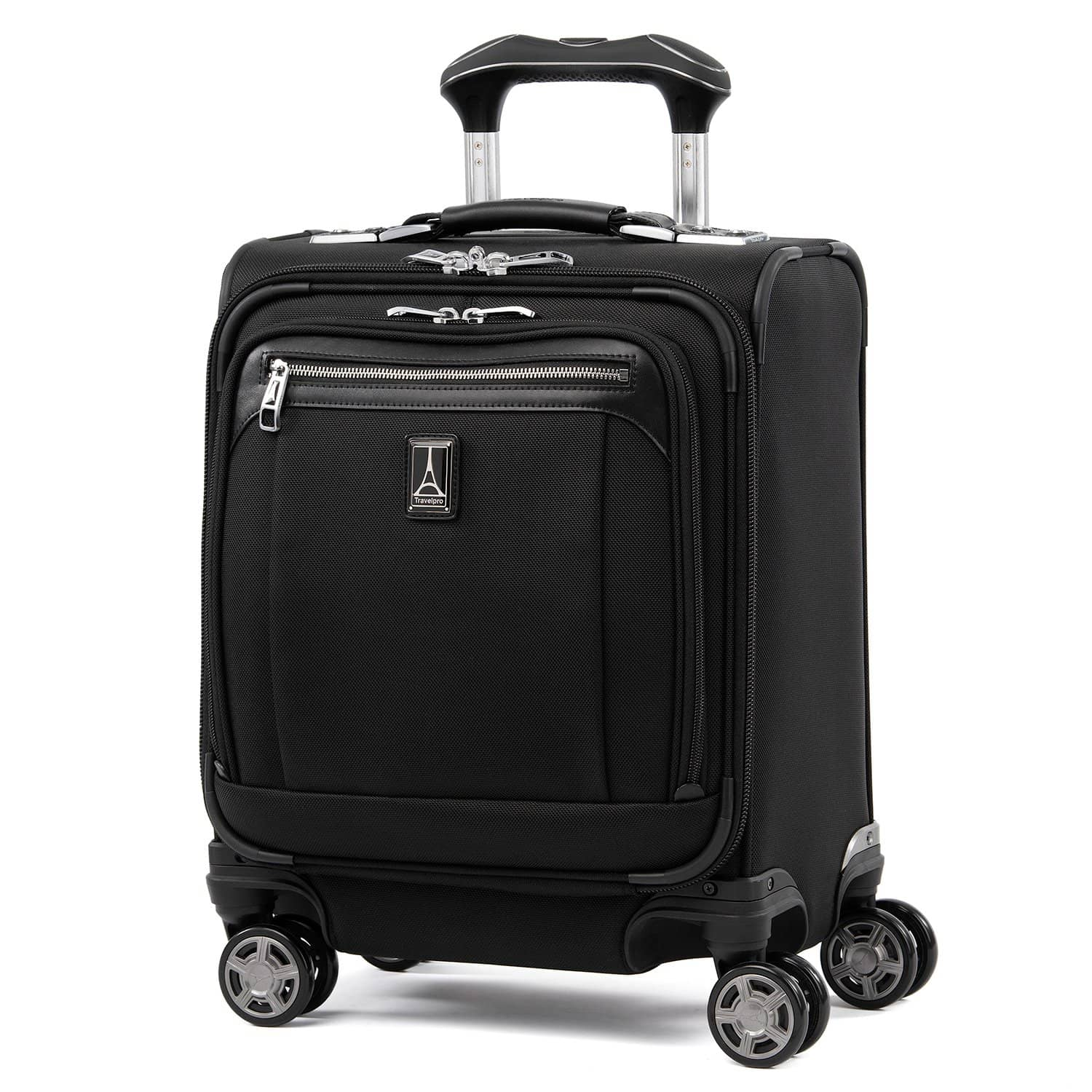 Travelpro Platinum® Elite Carry-on Spinner Tote SHADOW BLACK