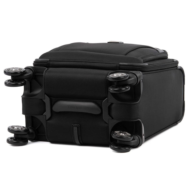 Travelpro Platinum Elite Carry-on Spinner Tote, Shadow Black