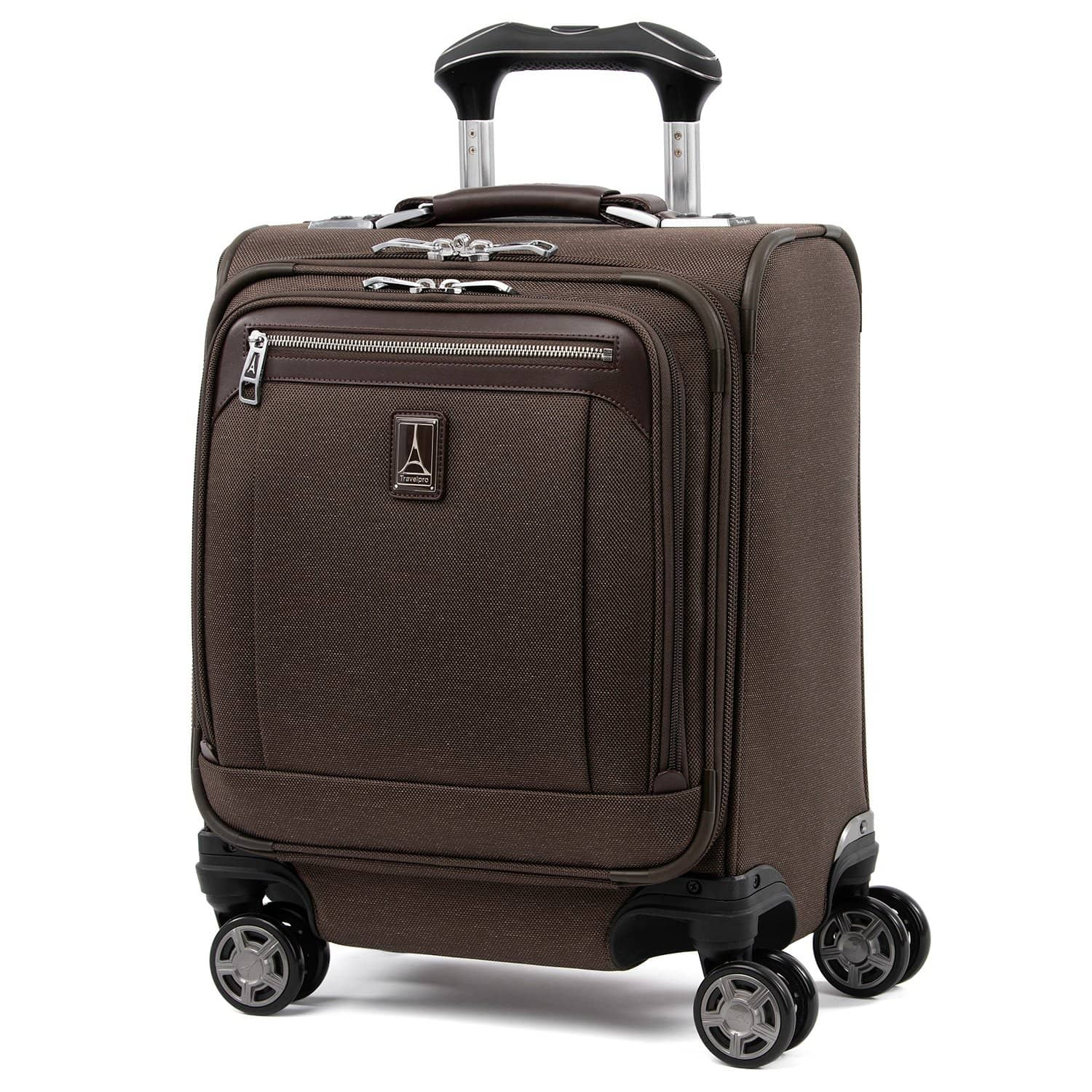 Travelpro Platinum® Elite Carry-on Spinner Tote RICH ESPRESSO