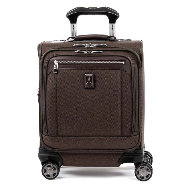 Travelpro Platinum Elite Carry-on Spinner Tote, Rich Espresso
