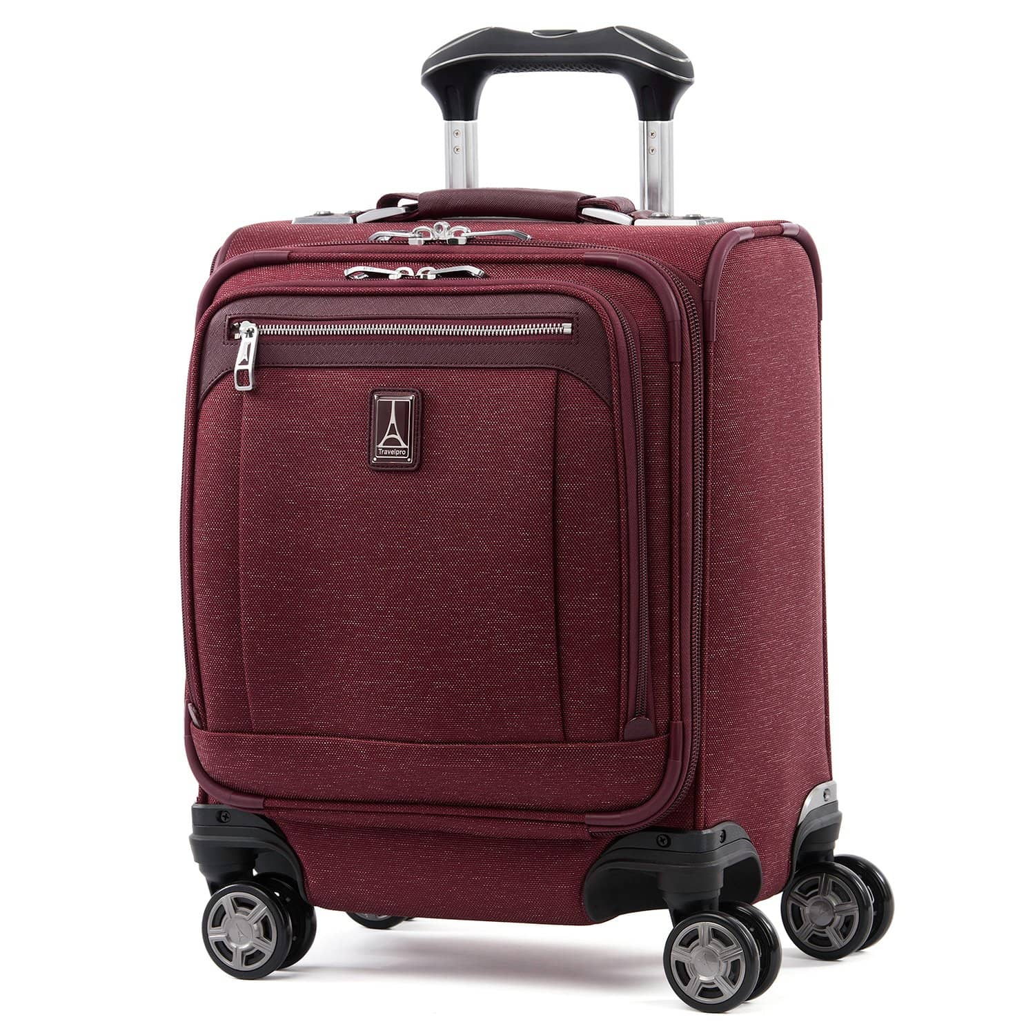 Travelpro Platinum® Elite Carry-on Spinner Tote BORDEAUX