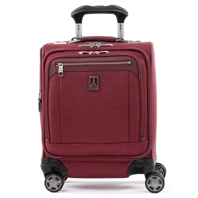 Travelpro Platinum Elite Carry-on Spinner Tote, Bordeaux