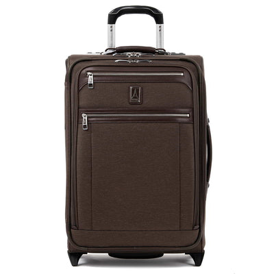 "Travelpro Platinum Elite 22"" Expandable Rollaboard, Rich Espresso"