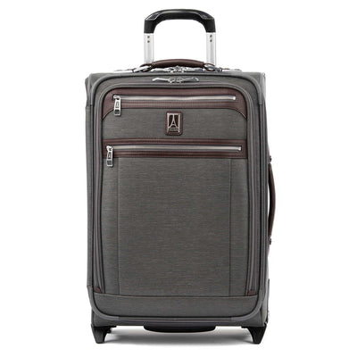 "Travelpro Platinum Elite 22"" Expandable Rollaboard, Vintage Grey"