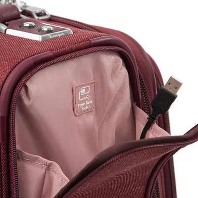 "Travelpro Platinum Elite 22"" Expandable Rollaboard, Bordeaux"