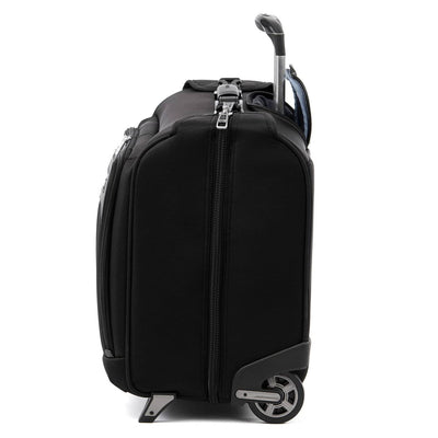 Travelpro Platinum Elite Carry-on Rolling Garment Bag, Shadow Black